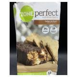 Zone perfect nutrition bars fudge graham 12 bars
