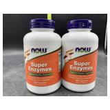 2 super enzymes 180 capsules each