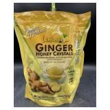Lemon ginger honey crystals 30 sachets