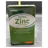 Ultra zinc lozenges 48 vegetarian lozenges