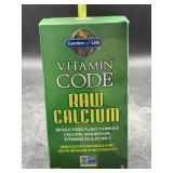 Vitamin code raw calcium 120 vegetarian capsules