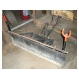 48 inch Plow Blade, Fits Economy Tractor