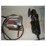Black and Decker Jig Saw and Grinder