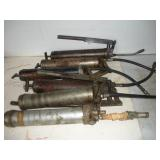 Assorted Grease Guns