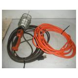 Trouble Light and Extension Cord