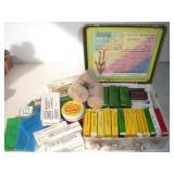 Vintage Metal First Aid Kit w/vintage contents