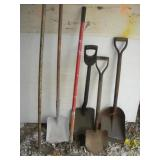 Shovels and Hoes