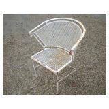 Mid Century Modern Metal Chair