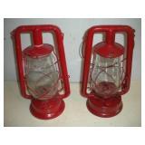 2 Kerosene Lanterns, Dietz, Embury Mfg. Co.