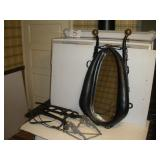 Horse Collar Mirror and six Shooter Bridle