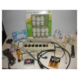 Extension Cords, Light Bulbs and Batteries