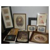 Framed Prints Lot