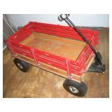 Wooden Speedway Express Wagon, 40x21x21