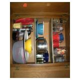 Contents of Cabinet, Kitchenware