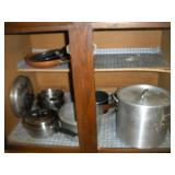 Pots and Pans, Contents of Cabinet