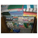 Contents of Shelves-Linens, Towels, Personal Care
