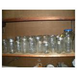 Canning Jars, Contents of Shelf