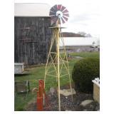 Decorative Windmill, Approx. 10 Ft. Tall
