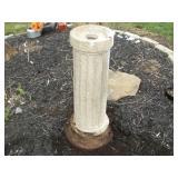 Concrete Pedestal, 30 inches Tall