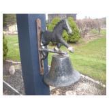Running Horse Dinner Bell
