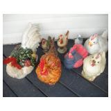 Yard Chicken Decorations