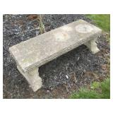 Concrete Bench, 43 inches