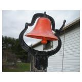 Large Bell, 26 inches Tall Including Bracket