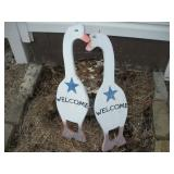 Double Sided Wood Geese(2),