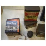 Vintage Advertising Containers