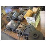 Alternators, Generators & Motors