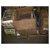 (7) Boxes Vintage Repair Manuals - Poor Condition
