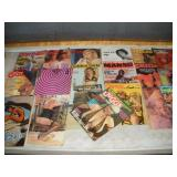 Assorted Vintage Adult Magazines