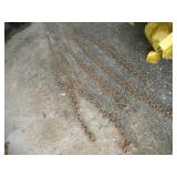 (5) Tow Chains    Longest - 8ft