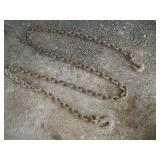 12ft Tow Chain  Link  1 3/4 x 2 1/2