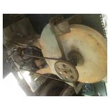 Vintage Grinding Stone  Stone Size 24x4 Inches
