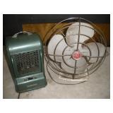 Vintage Fan & Heater