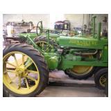 1935 John Deere B  Serial # B4294