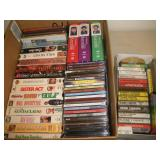 Mixed Media, DVD, VHS, CD and Cassette