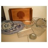 Metal and Aluminum Serving Trays