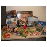 Puzzles (Most NIB) and Games, Crystal Kit (NIB)