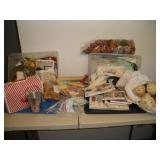 Misc. Craft Lot, Sewing Notions,