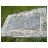 Area Rug, Rubber Backed, 60x90