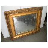 Framed Wall Mirror, 32x28