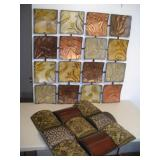 Metal Wall Decoration (2), Largest 34x35