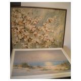 2 Canvas Prints, Largest 43x37