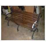 Kings River Casting Park Bench 60 x 20 x 31 inch