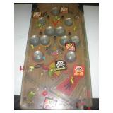 Toy Pinball Machine 12x24 Inches