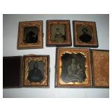Civil War Era Tin Type Photos