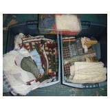 (3) Totes Assorted Fabric