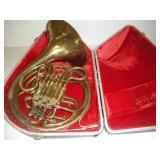Vintage French Horn - Missing Mouth Piece
